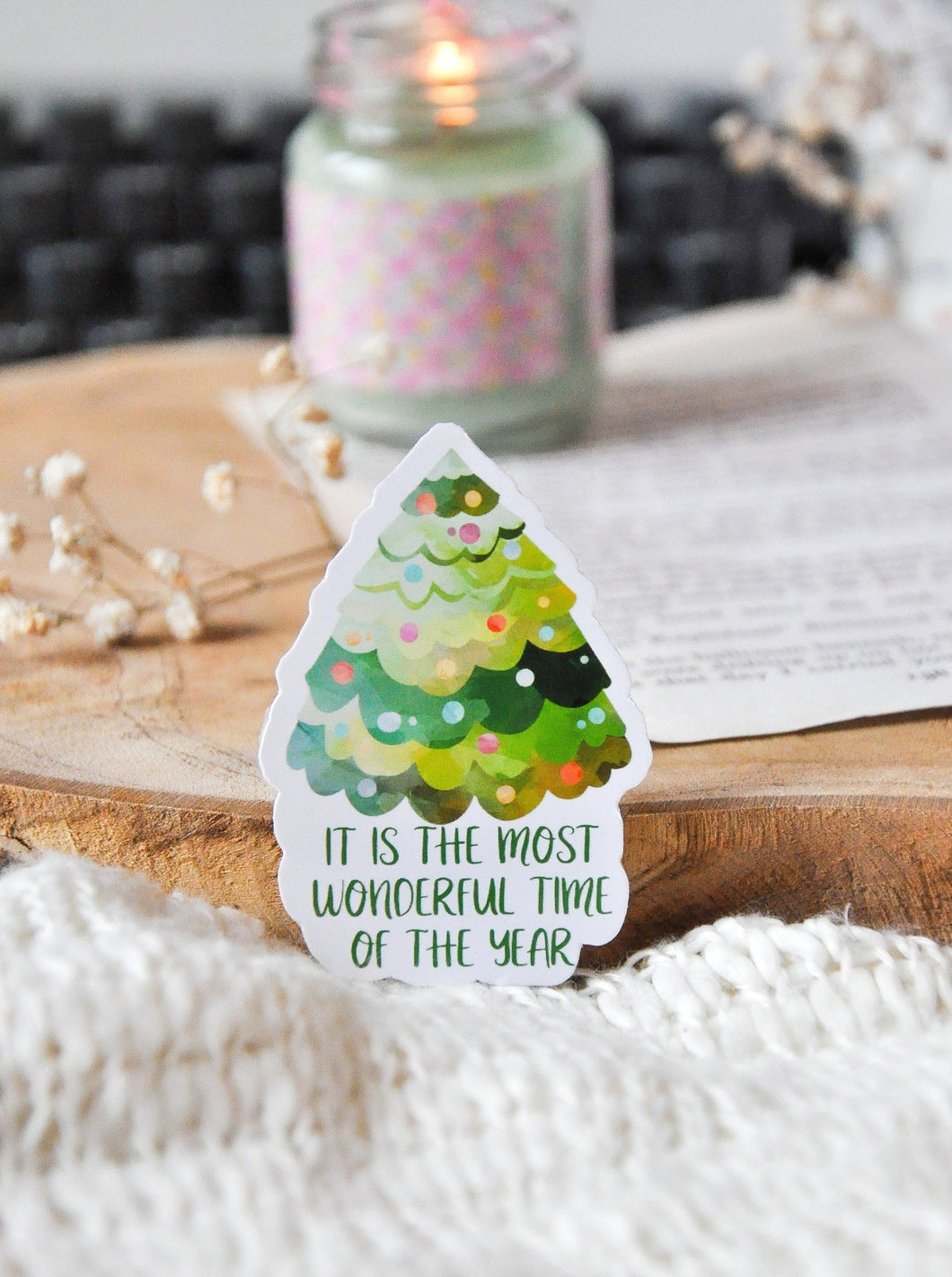 Christmas Saying Sticker