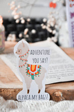 Load image into Gallery viewer, Adventure Alpaca Sticker