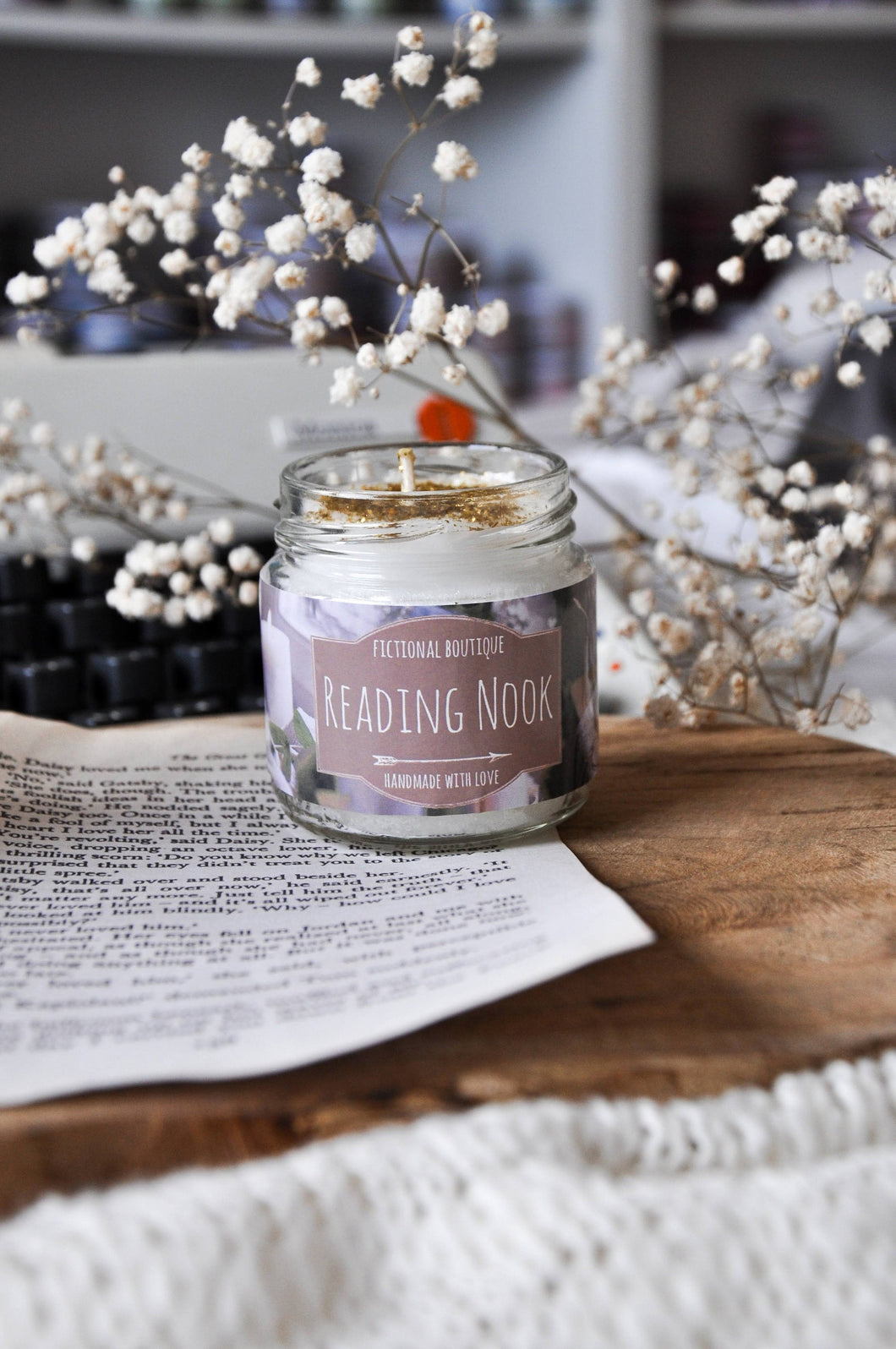 Reading Nook Candle