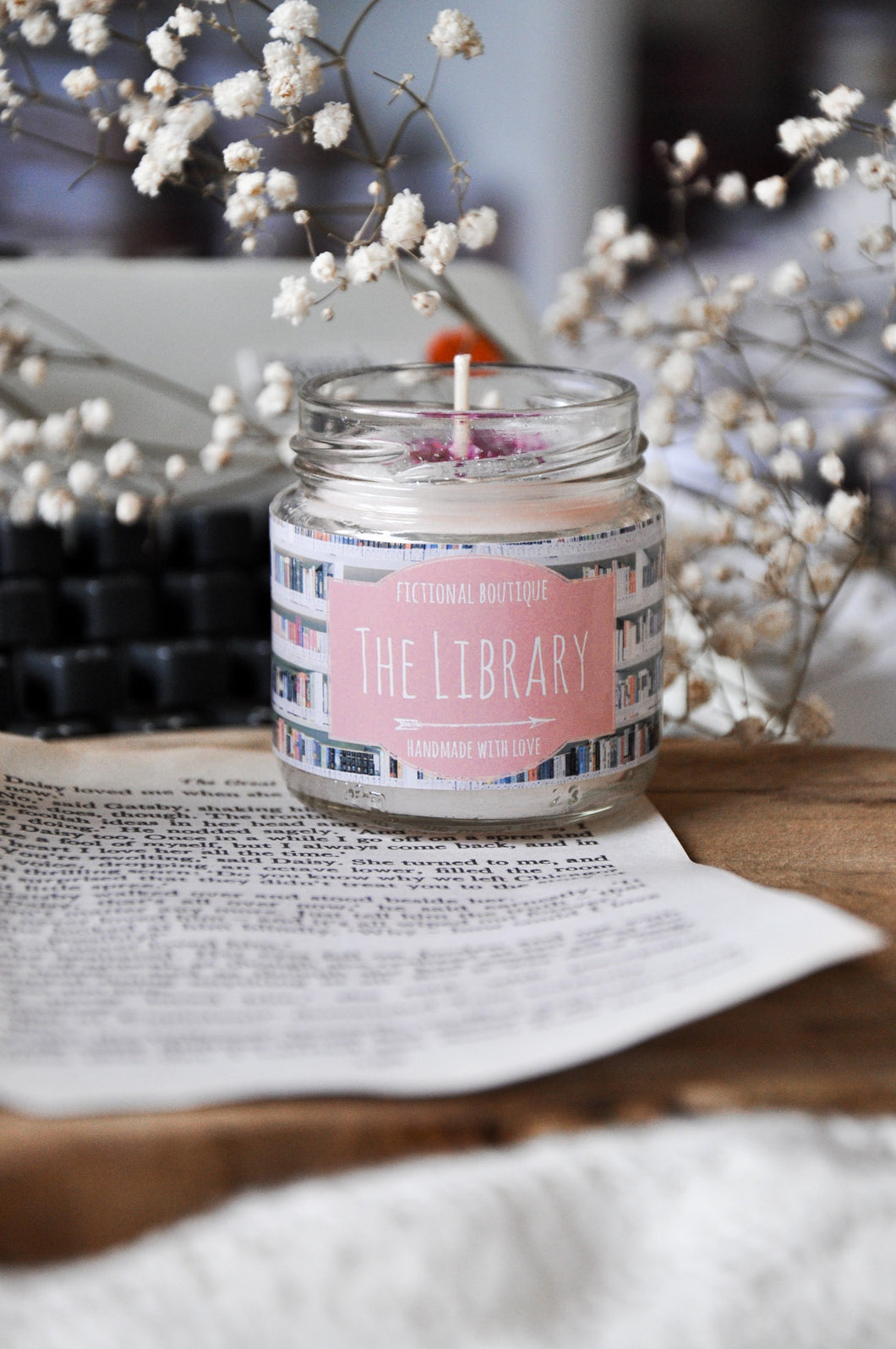 The Library Candle
