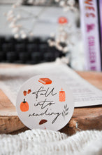 Load image into Gallery viewer, Fall Into Reading Autumn Sticker