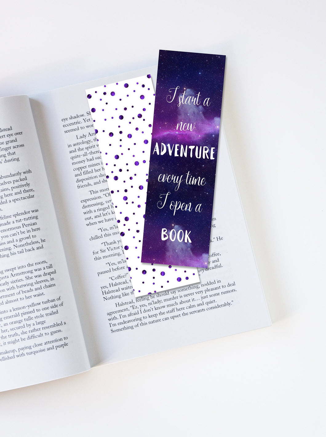 I Start A New Adventure Every Time I Open A Book Laminated Bookmark
