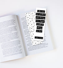 Load image into Gallery viewer, Jane Austen Laminated Bookmark
