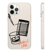 "Load image into Gallery viewer, Biodegradable YOTO White Phone Case for iPhones and Samsung Galaxy Phones ""Icons"""