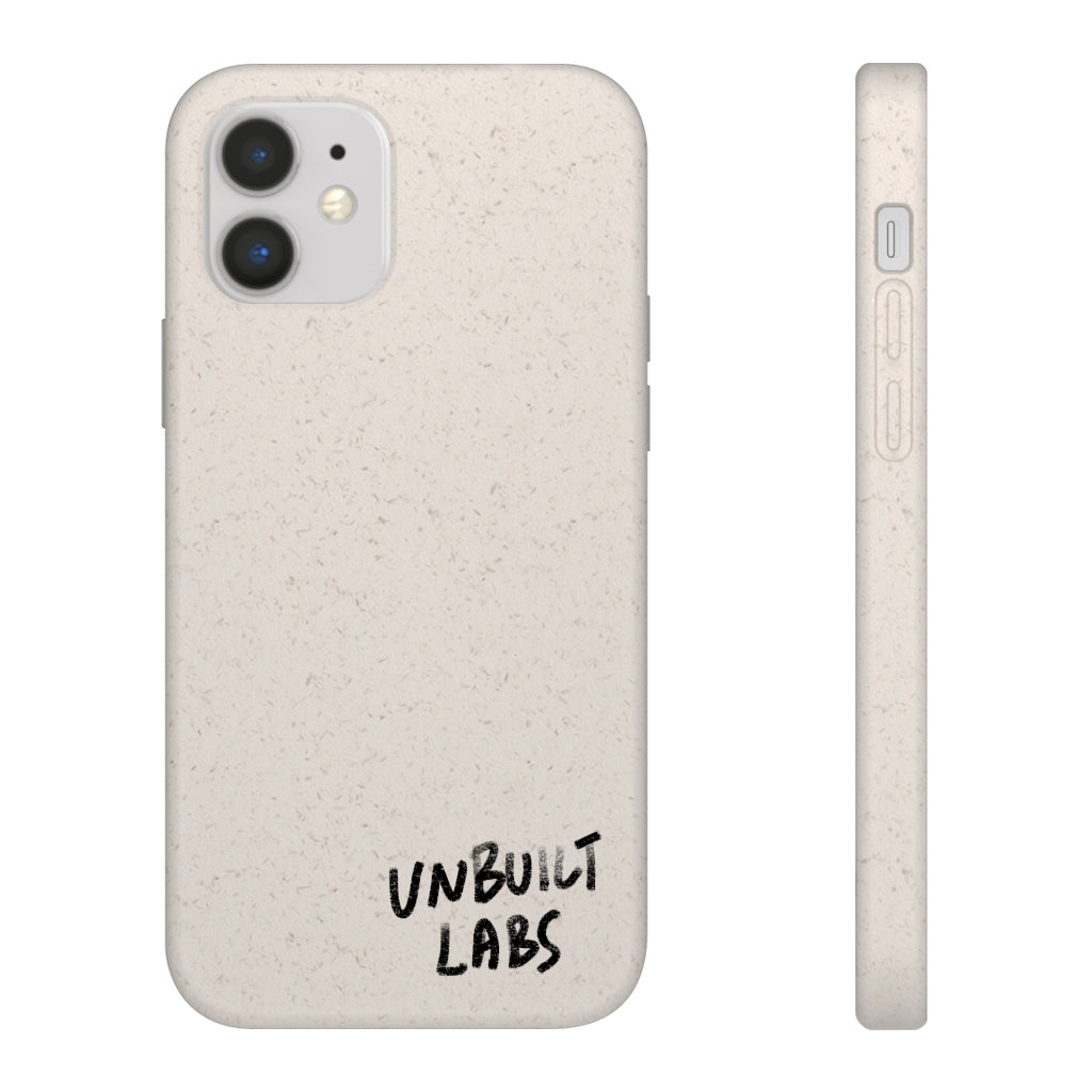 Biodegradable YOTO White Phone Case for iPhones and Samsung Galaxy Phones