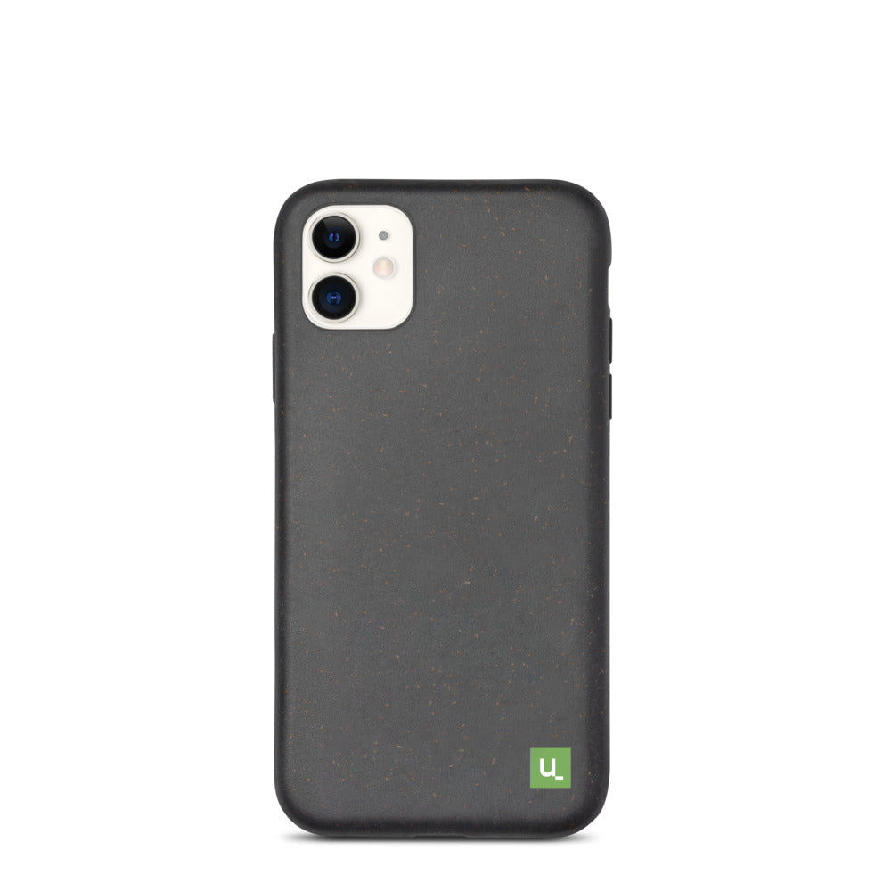 Biodegradeable Black Phone Case for iPhones