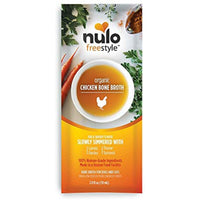 Nulo Freestyle Organic Chicken Bone Broth for Dogs and Cats 2 Ounces