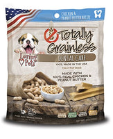 Loving Pets Totally Grainless Chicken & Peanut Butter Recipe Dental Care Toy For Small Dogs (1 Pack), 6 Oz