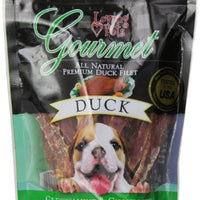 Loving Pets All Natural Premium Duck Strips With Glucosamine & Chondroitin Dog Treats, 6 Oz