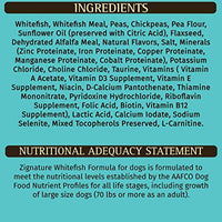 Zignature Whitefish Formula Grain-Free Dry Dog Food 4lb