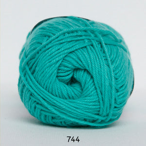 Cotton nr 8 - 744 Grøn