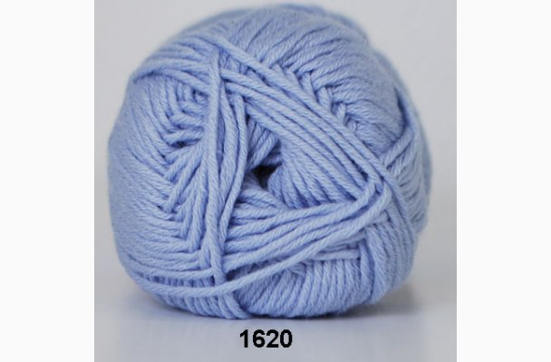Merino Cotton 1620 Lyseblå