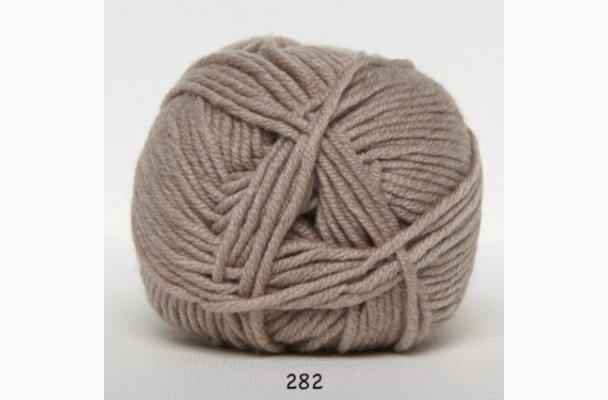 Merino Cotton 282 Lysebrun