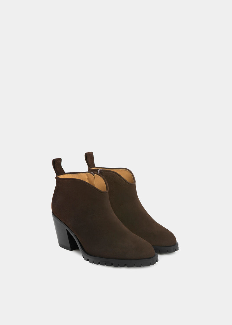 Bota Ankle - Chocolate