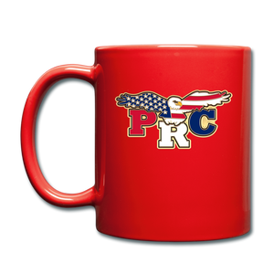 Open image in slideshow, PRC Full Color Coffee Mug - red