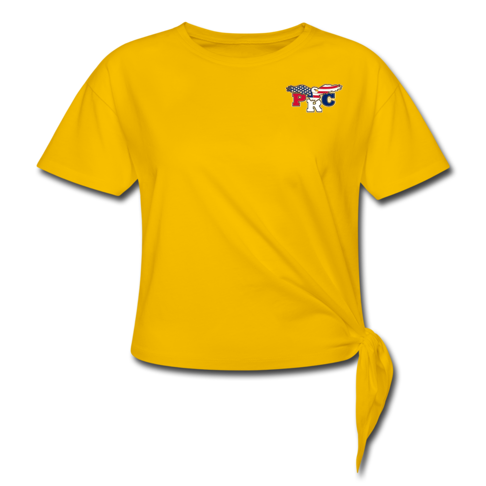 PRC Knotted T-Shirt - sun yellow