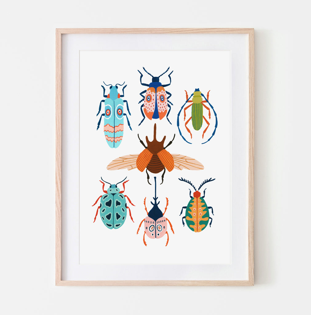 Beetles of the Tropics - Amber Davenport