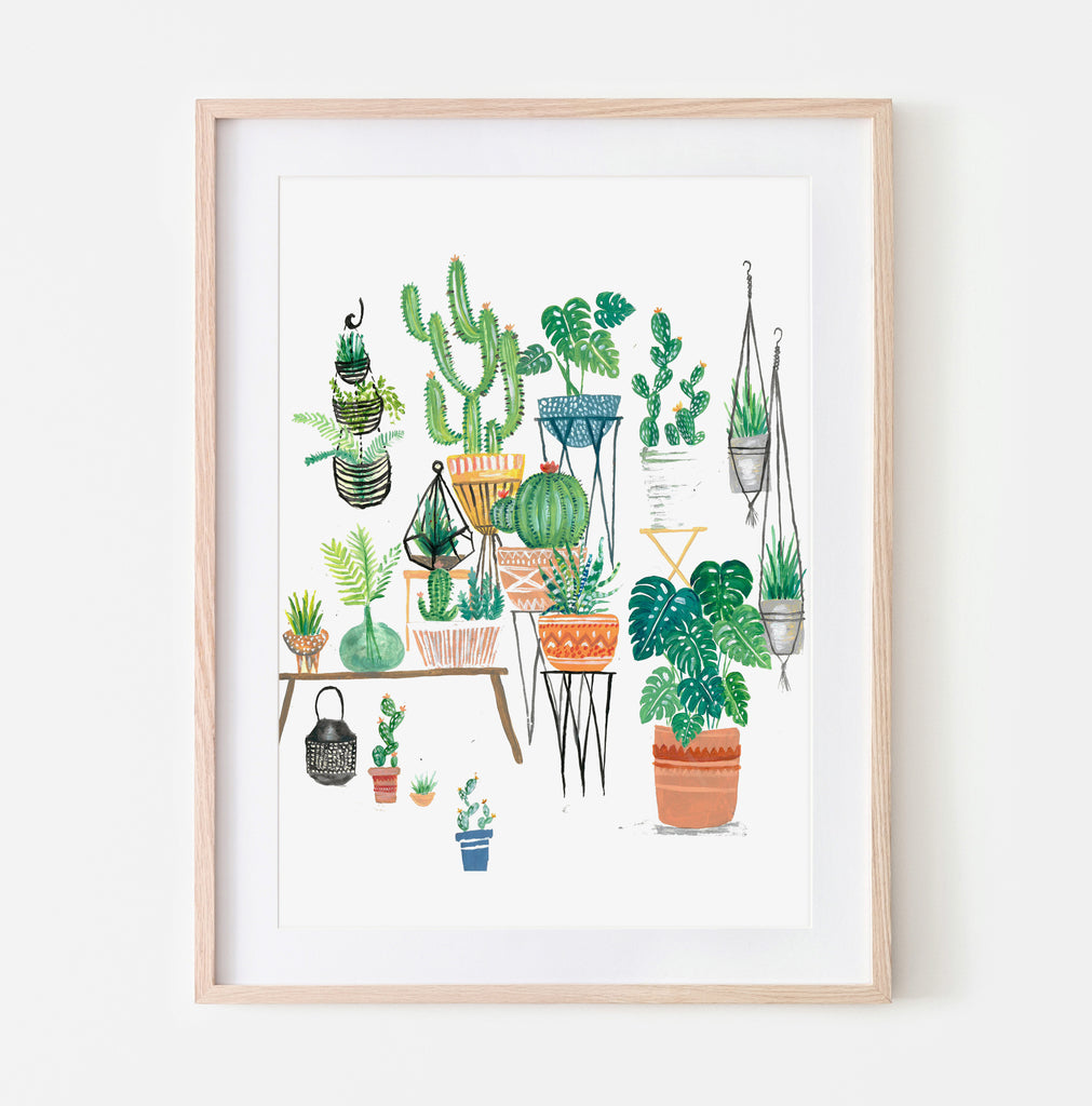 Potted Jungles - Amber Davenport