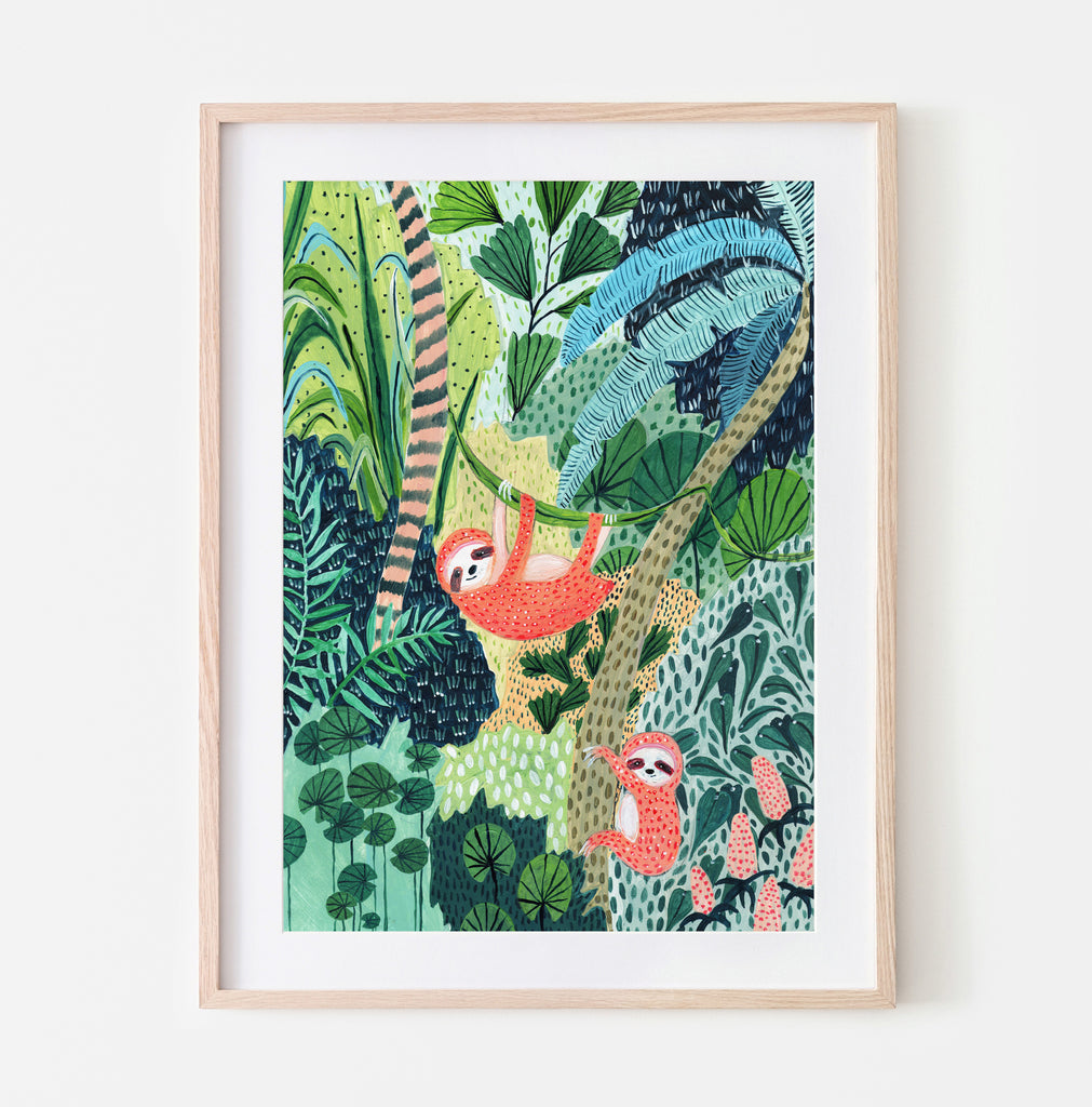Jungle Sloths - Amber Davenport