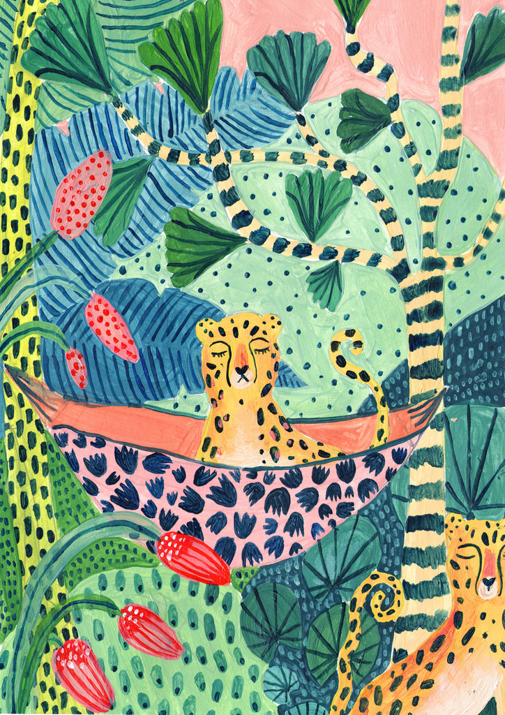 Jungle Leopard Pair - Amber Davenport