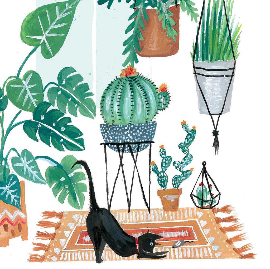 Potted Jungles Black Cat - Amber Davenport