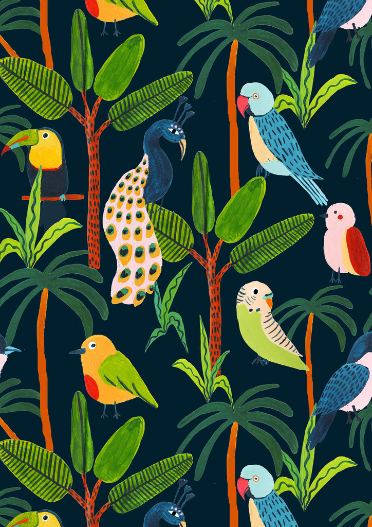 Birds of the Jungle - Amber Davenport