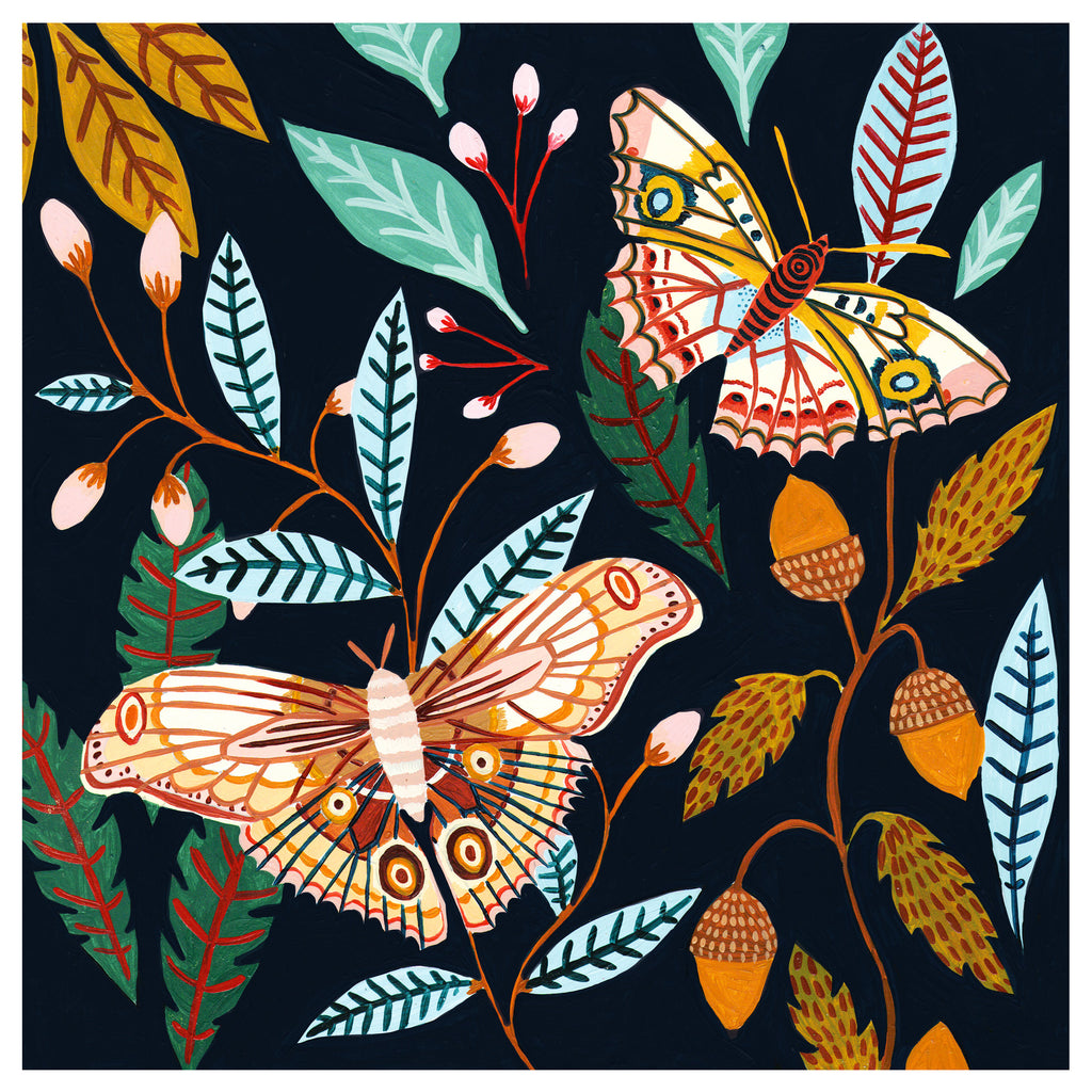 Woodland Moths - Amber Davenport