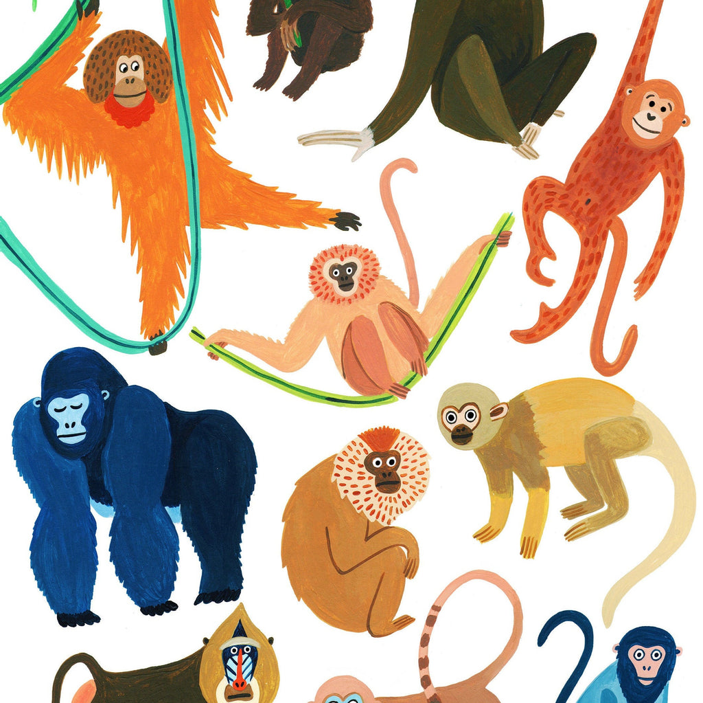 Monkeys of the Jungle - Amber Davenport