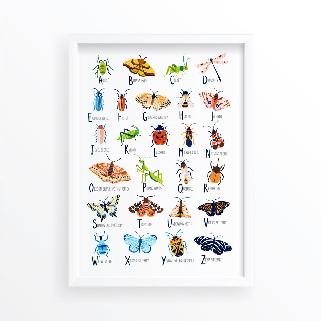 Insect Alphabet - Amber Davenport