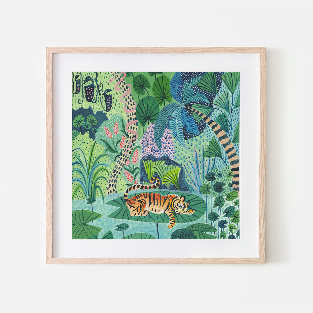 Jungle Cats set of 3 - Amber Davenport