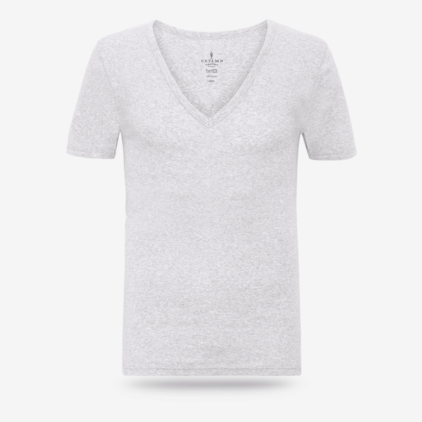 Dyb V-neck undertrøje