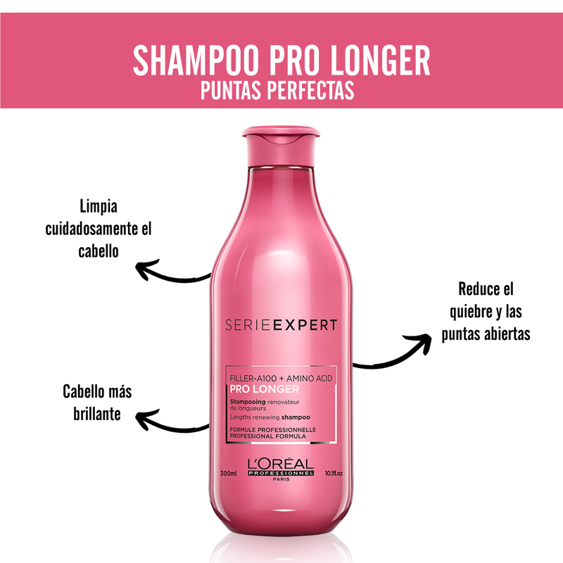 SERIE EXPERT SHAMPOO PRO LONGER SHP 300ML