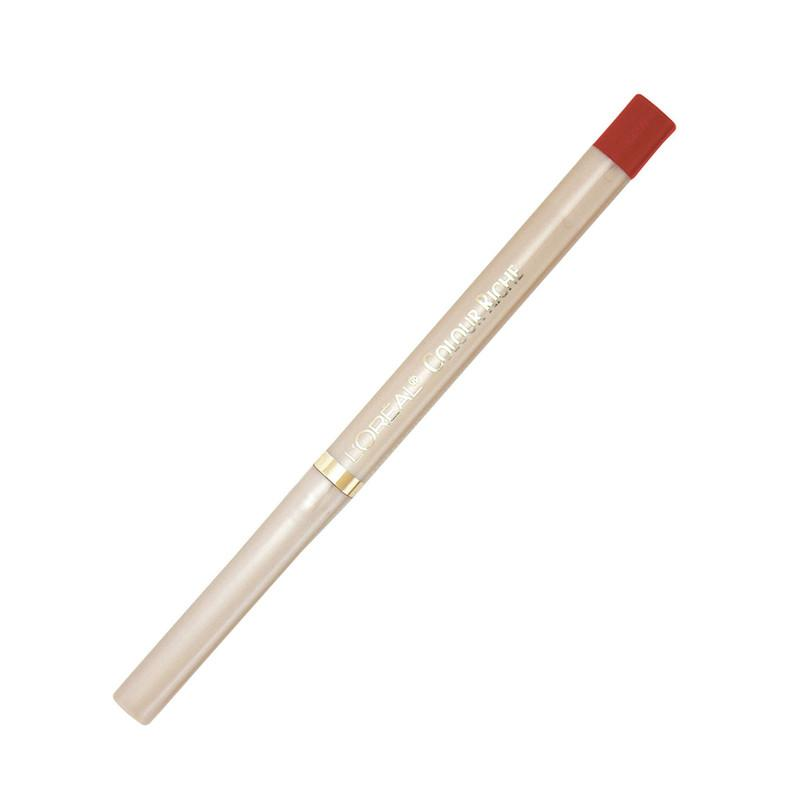 DELINEADOR DE LABIOS COLOR RICHE 765 ALWAYS RED L'ORÉAL PARIS