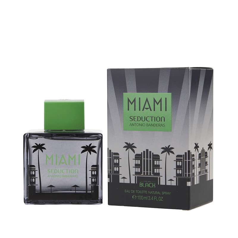 MIAMI SEDUCTION BLACK 100ML EDT
