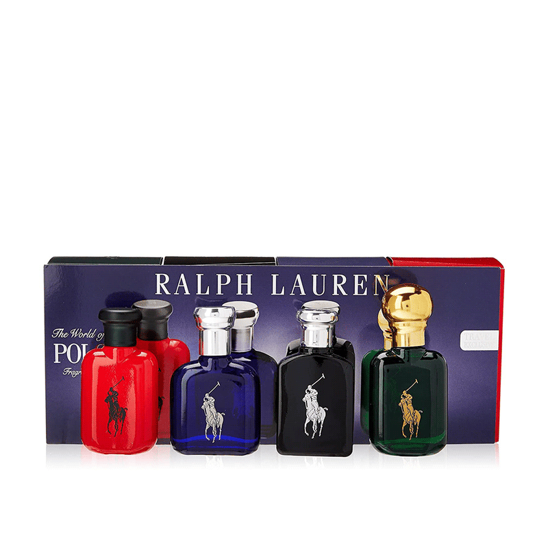 The World of Polo Fragances Estuche 4 perfumes 15ML EDT Homb
