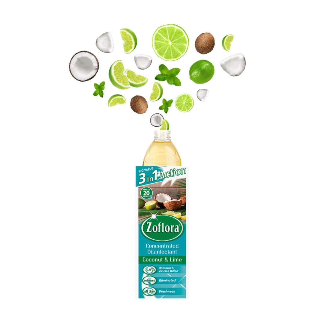 Zoflora Coconut & Lime 500ml