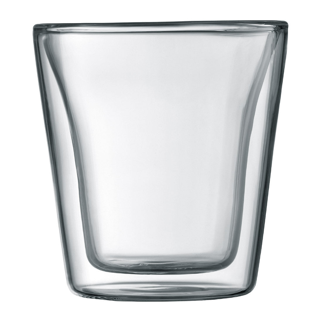 Canteen Double Wall Glass 2pcs 6oz