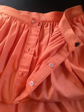 Load image into Gallery viewer, Salmon Pink Cotton Skirt