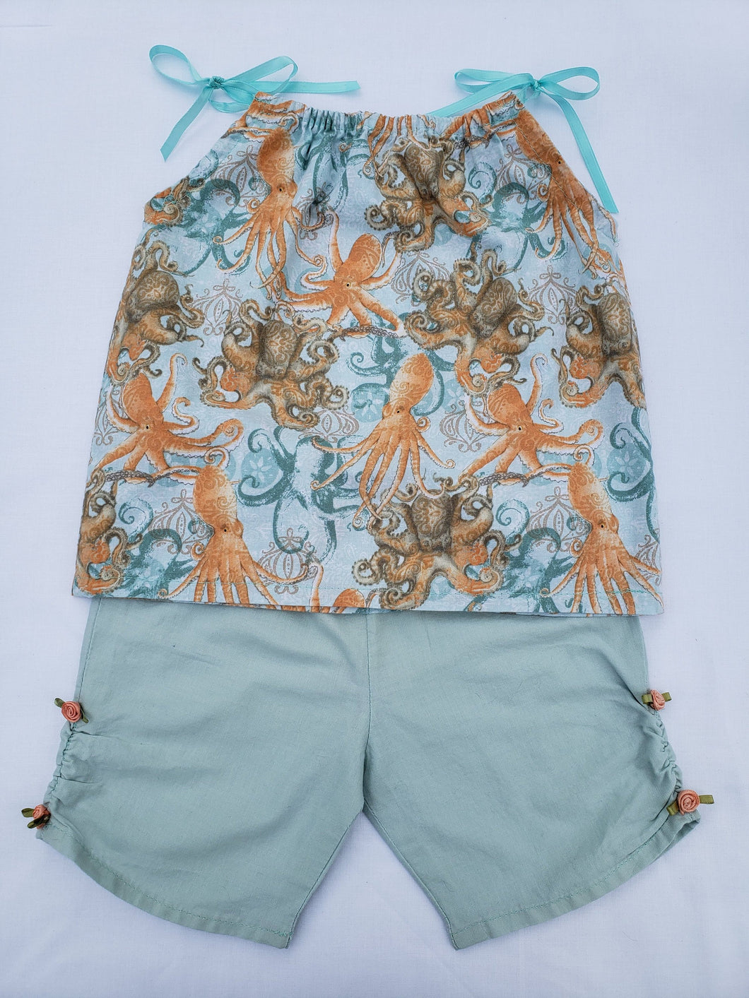Baby Two-Piece Cotton Summer Outfit