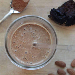CHAGA CACAO SMOOTHIE RECIPE FROM CONSCIOUS COOKING