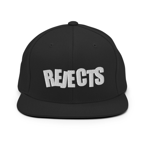 Rejects Snapback (Black)