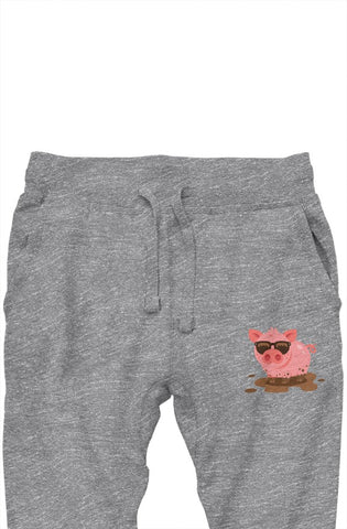 Cool Piggy Premium Sweatpants (Gray)