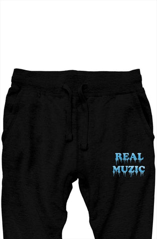 Real Muzic Premium Sweatpants (Black)
