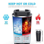 Insulated Tumbler Coffee Travel Mug