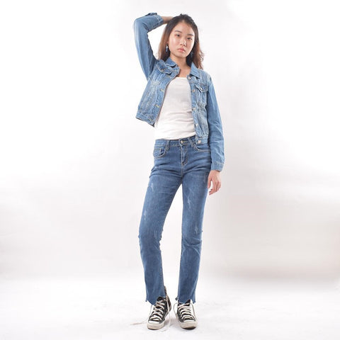 Elastic Denim Jean