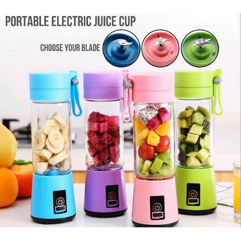2/4/6 BLADES USB Portable Electric Fruit Juicer Cup