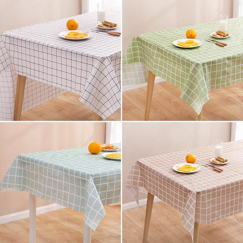 Table Cloth Waterproof Plastic Table