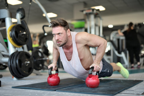 cardio exercises with dumbbells