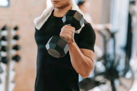cardio with dumbbells