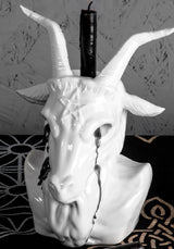 Crying Baphomet Candle Holder